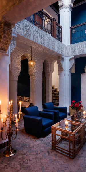 Riad Les Yeux Bleus, Marrakech.   Photo by Alan Keohane www.still-images.net